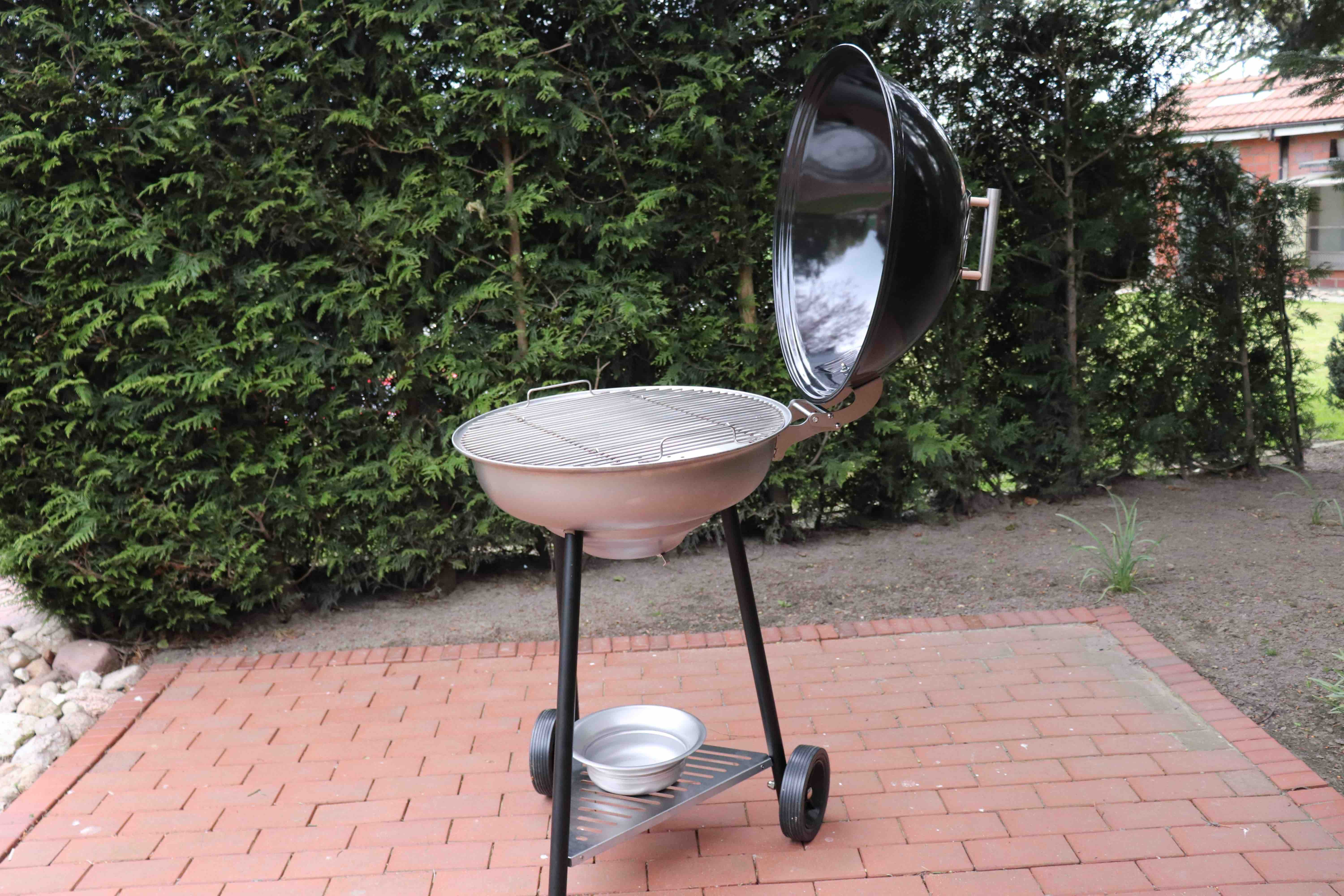 schickling grill im test - kohle & gas kombi made in germany